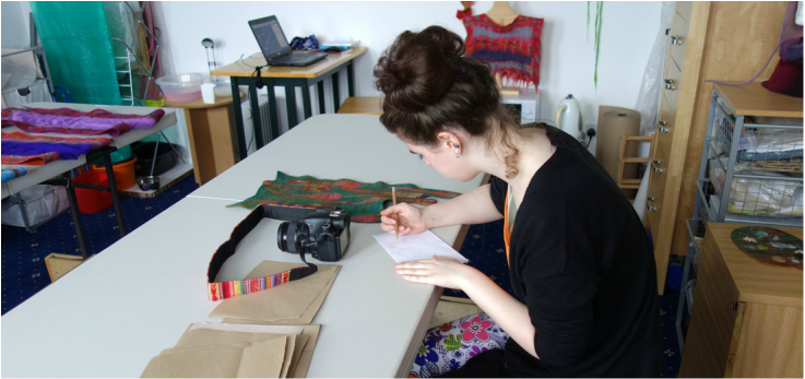 A-Level Textiles - Preparation class with Heather Potten